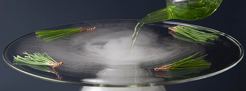 100% Chef – molecular gastronomy, dry ice, catering